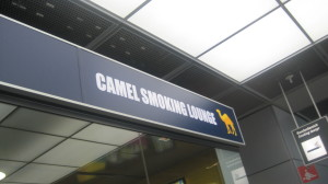 Ooooh, za camel smooking lounge!