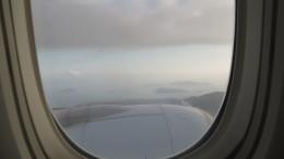 Approaching into Hong Kong.