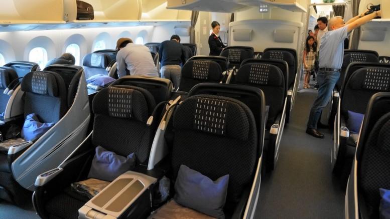 JAL 787 business class