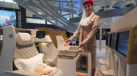 Emirates New Business Class