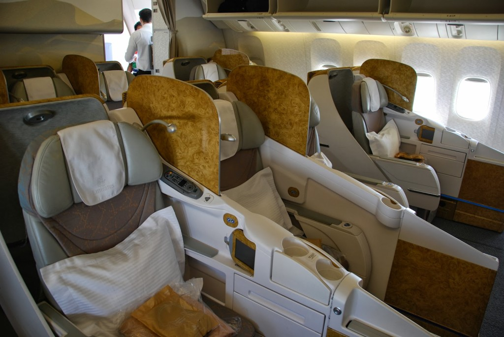 Emirates Old Business Class