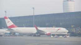 Austrian Airlines 767-300 at VIE