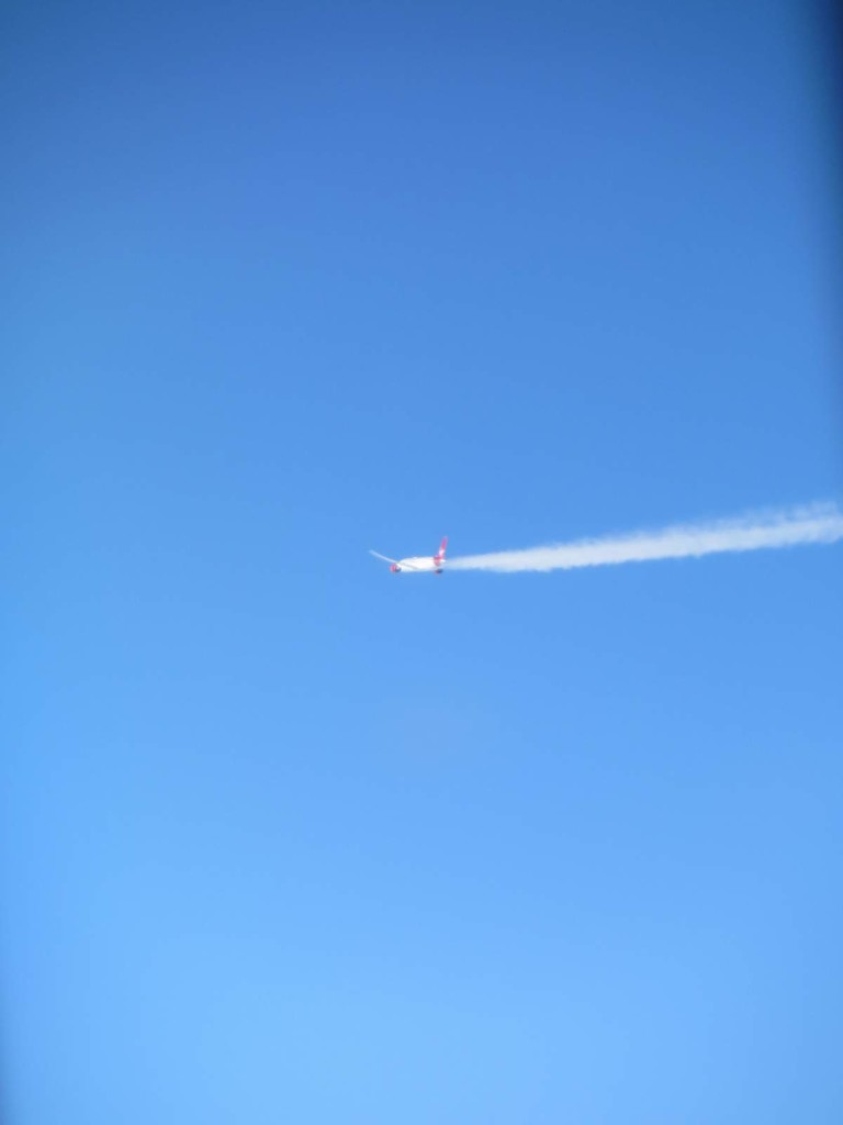 Virgin 787 somewhere over Greenland.