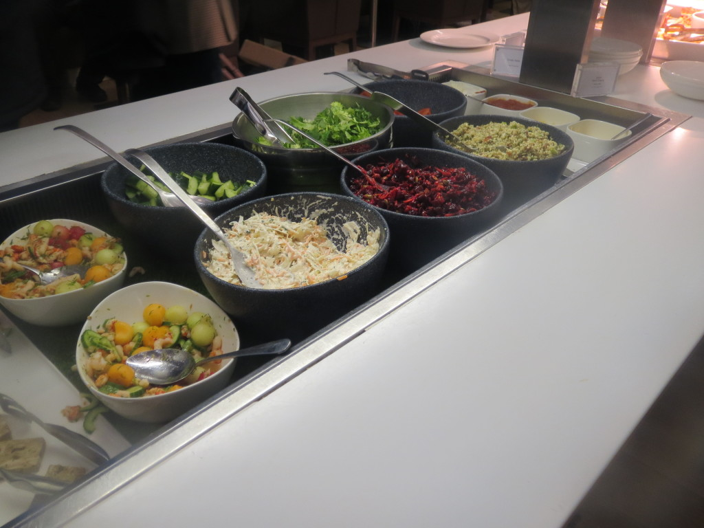 british_airways_ba_first_class_galleries_lounge_london_heathrow_lhr_terminal_5_t5_review_trip_report_food_buffet_food_spread_2