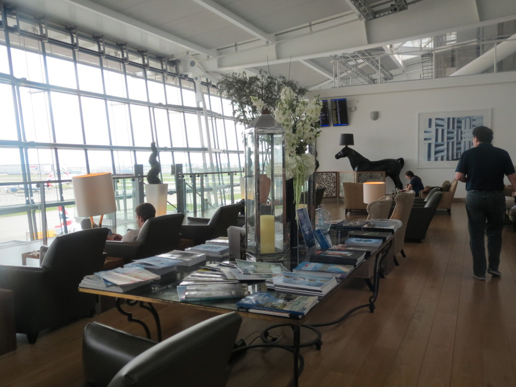 british_airways_ba_concorde_room_lounge_london_heathrow_lhr_review_trip_report_blog_seating_food_access_conference_room_concorde_plane_chairs_seats_view_horses_horse_lamps