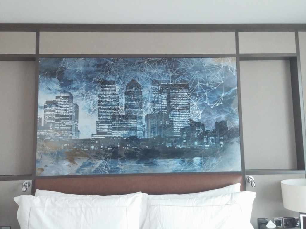 Intercontinental London - The O2 artwork