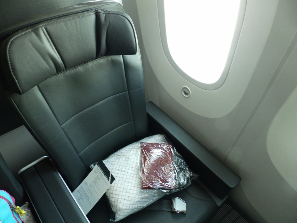 American Premium Economy seat 11A
